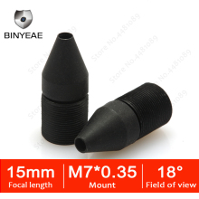 BINYEAE HD 1.3MP Mini Lens 15mm M7 Pinhole Lens F2.0 1/3 Image Sensor for CCTV Security Cameras hd cctv lens pinhole 22mm m12 0 5 mount 1 2 f1 6 14 8 degree for security cctv cameras