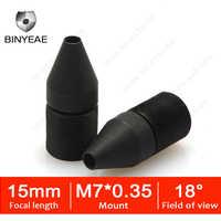 BINYEAE HD 1.3MP Mini Objektiv 15mm M7 Pinhole Objektiv F2.0 1/3 Bild Sensor für CCTV Sicherheit Kameras