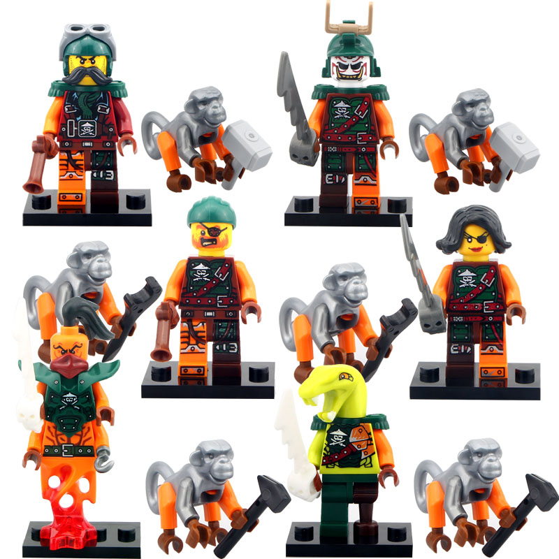 Lego Movie Building Block Minifigures From China