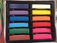 12 Colors/set 2018 New Women Girls Non-toxic Temporary Salon Kit Pastel Chalk Pastel Chalk Use For Hair