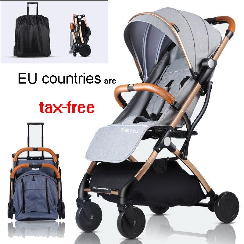 Bebe carrito plegable Viaje ligero Puede sentarse y mentir baby carriage Bolso para cochecito de bebé, bolsos de moda para madres, bolso grande para pañales, mochila, organizador para bebés, bolsas de maternidad, bolso para madres, mochila para pañales