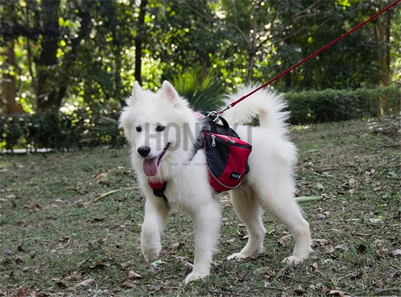 Pet Carrier Bag Outdoor Pet Dog Saddle Backpack for Hiking Camping Training Pack