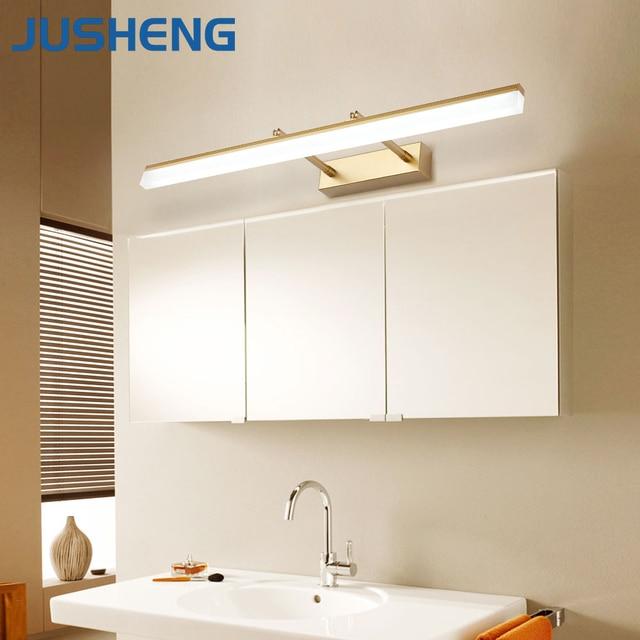 Jusheng Modern Bathroom Led Wall Lamp Lights With Adjustable Beam