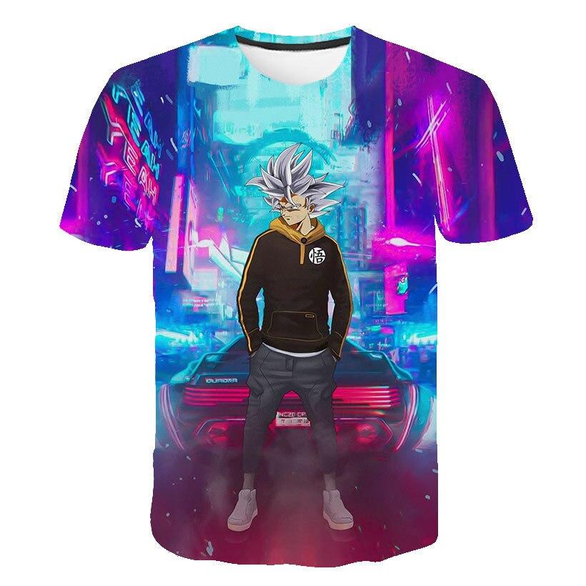 Newest Cute Kid Goku 3d T Shirt Dbz T Shirts Boys Girl Casual Tees