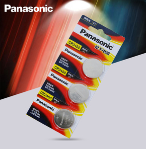 3pcs New Original Panasonic CR2450 CR 2450 3V Lithium Button Cell Battery Coin Batteries For Watches,clocks,hearing aids(China)