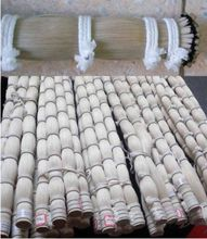 500g 82-85cm violin bow horse hair white mongol