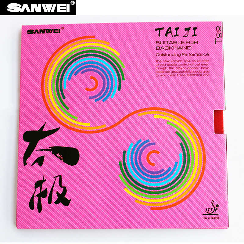 ITTF approved SANWEI NEW TAIJI Table Tennis Rubber/ Ping Pong Rubber
