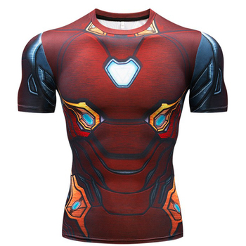 T Shirt Captain America Shield Civil War Tee 3D Printed T-shirts Men Marvel Avengers 3 iron man Fitness Clothing Male Tops 5