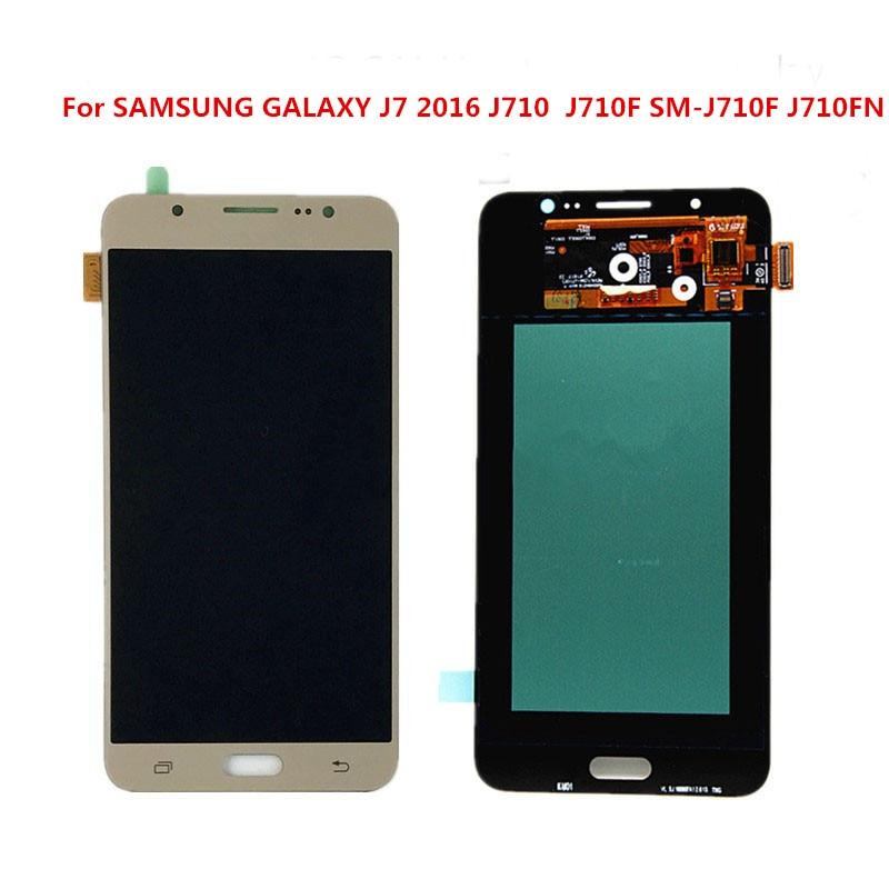 100%original  LCD display For SAMSUNG GALAXY J7 2016 J710 J710F SM-J710F J710FNLCD Display Touch Screen Digitizer Replacement100%original  LCD display For SAMSUNG GALAXY J7 2016 J710 J710F SM-J710F J710FNLCD Display Touch Screen Digitizer Replacement