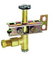 유니버설 가스 파일럿 어셈블리 6mm 자연 또는 lpg 가스 3 웨이 lp 또는 nat 예비 부품