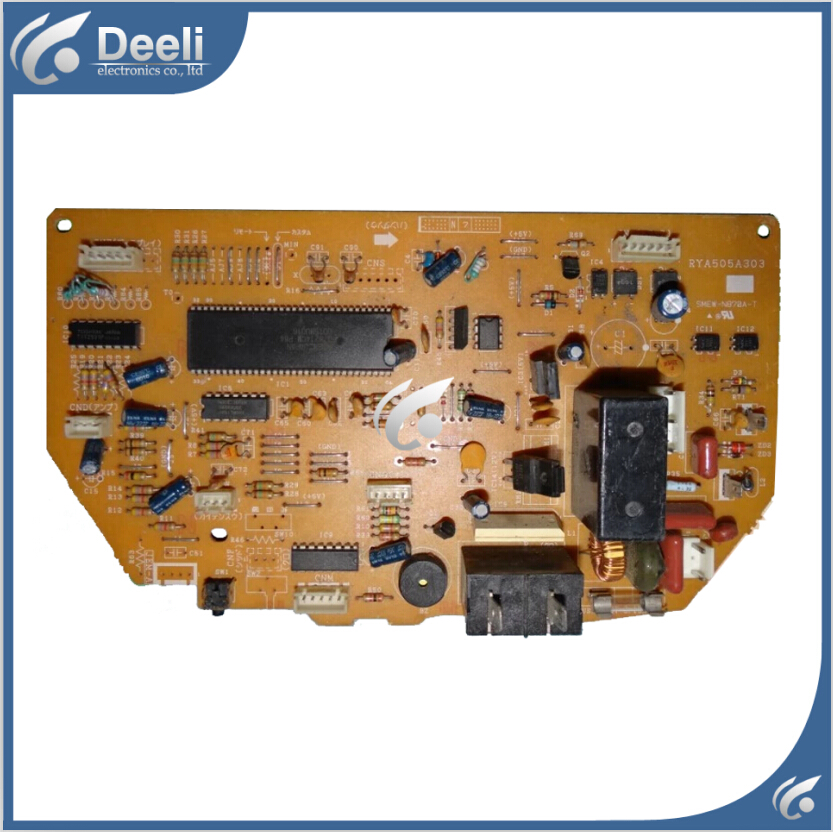 95% new used for Mitsubishi air conditioning board computer board RYA505A303 good working air conditioning board a74591 a74608 used disassemble