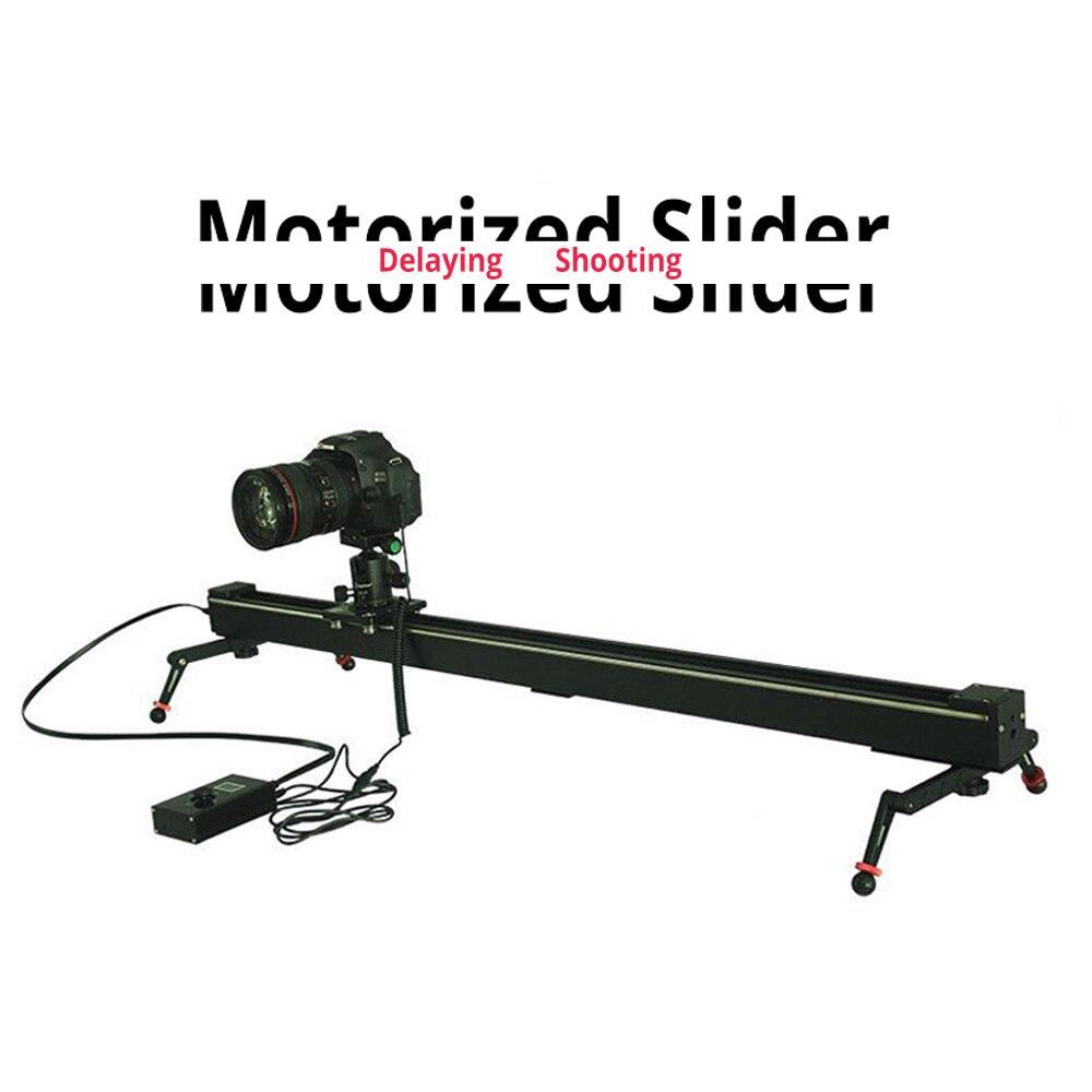 DIGITALFOTO Westage II 100 cm professional Electric Control timelapse DSLR camera motorized slider with Track dolly rail