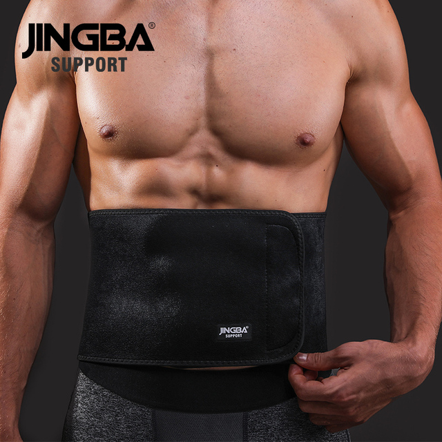 JINGBA SUPPORT Sports protective gear waist trimmer Support Slim fit Abdominal Waist sweat belt Sports Safety Back Support 1