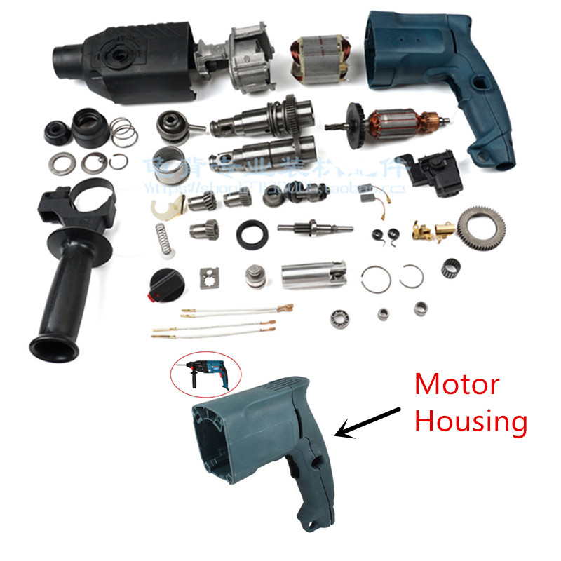 Plastic Shell Replacement For BOSCH 24 Bosch GBH2-24DSR GBH2-24DS GBH2-24DSE 1 615 108 062 GBH2SE Motor Housing Handle Cover