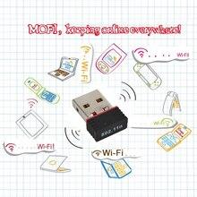 Kebidu мини 150 Мбит/с USB Wi-Fi Беспроводной адаптер 150 м Сетевая LAN Карта 802,11 ngb чип REALTEK