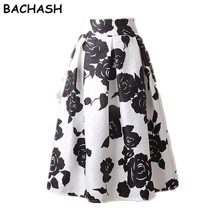 っBachash mujeres Peach floral impresión elástica de alta cintura ...