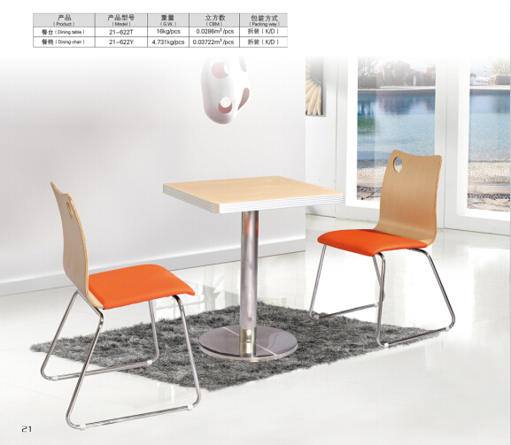 Restaurant Cafe Chairs Dinning Table Chair Restaurant-table-chair-sets