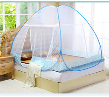 Red Mosquito Net For Bed Pink Blue Purple Student Bunk Bed Mosquito Net Mesh Adult Double Bed Netting Tent Mosquito Net Bed(China)
