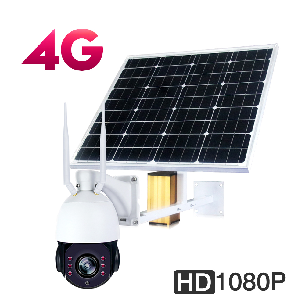 цена Solar 3G 4G Wireless HD 1080P WiFi Audio PTZ Camera Onivf P2P outdoor camera wifi Security IP camera CCTV Network 32GB TF Card