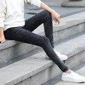 2016 inverno venda quente vestuário gravidez roupa de maternidade jeans calças para as gestantes plus preto azul