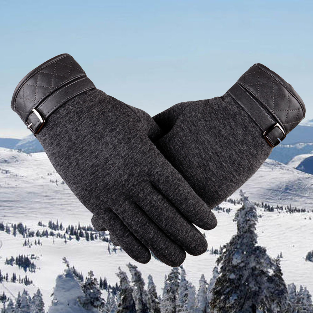 Back To Search Resultsapparel Accessories 2017 Hot Men Soft Pu Leather Winer Warm Gloves Tactical Outdoor Driving Bike Bicycle Half Finger Gloves Guanti Invernali Black