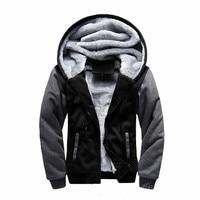 Winter Men Warm Hoodies Sweatshirts Brand Baseball Uniform Sportswear Jacket Fleece Hoodie Jaqueta Masculina Coat Plus