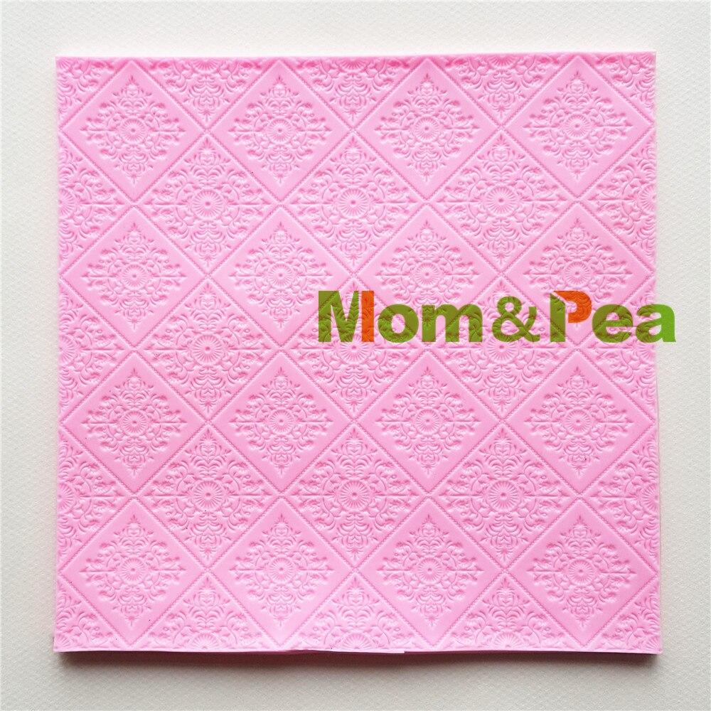Maman et De Pois MPA1719 Déco En Forme de Silicone Moule Gâteau Décoration Fondant Gâteau 3D Moule Savon De Qualité Alimentaire Moule