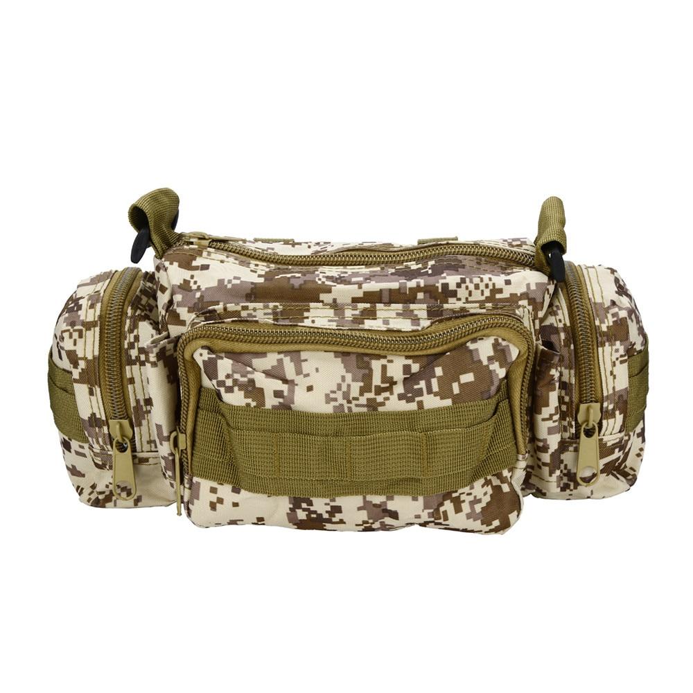 Outdoor Sport Bag Running Bag Waist Waterproof Fashion Casual Men Canvas Bag Mobile Phone Money Holder Belt Pocket