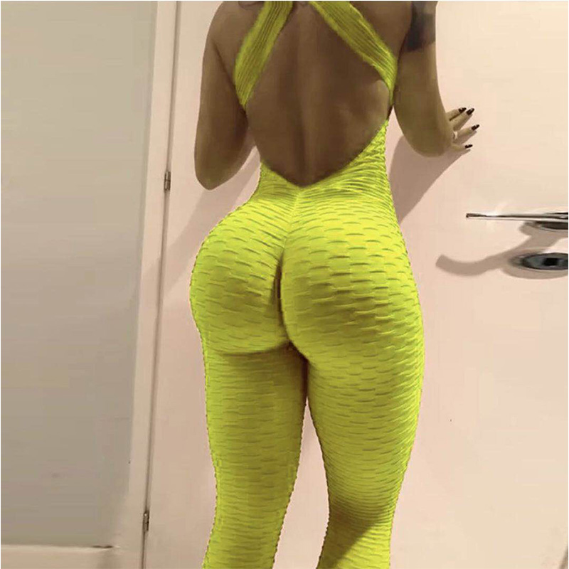 yoga sports pants fitness exercise legging green pants1