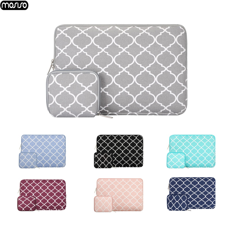 "MOSISO New Laptop Bags Sleeve Notebook Case for Lenovo Macbook air 11 12 13 14 15 15.6 inch Cover Retina Pro 13.3""zipper bag"