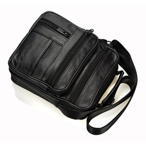Image 3 - Brand Men Bag 2020 Fashion Mens Shoulder Bags High Quality Leather Casual Messenger Bag Business Mens Travel Bags Handbags