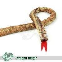 Snake Cane Eragon Magic Tricks Magia Magie Toys Retail And Wholesale