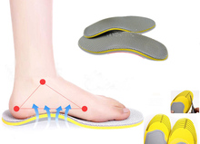 Foot Care Insole Sport Shock Absorbing Soles Correction Of Flatfoot Coot Protection Arch Support Ease Foot Pressure