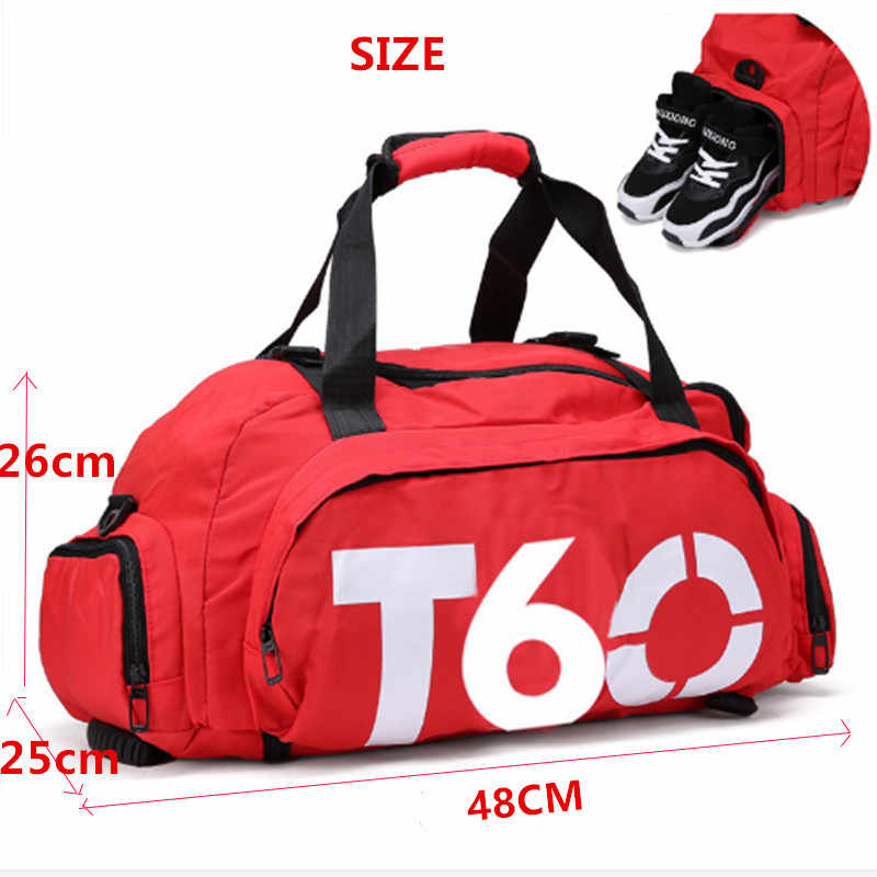 2c2e05903 ... T60 Gym Sports Bags T90 Bag Basketball Multifunctional Travel Shoulder  Backpack Bag Independent Crossbody Training Soccer ...