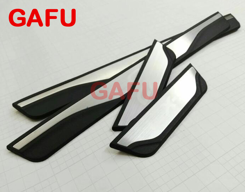 Fit For Mazda CX-5 CX 5 CX5 Door Sill Scuff Plate Guards Door Sills Strip Protector Stickers Car <font><b>Accessories</b></font> Sticker 2014-2016