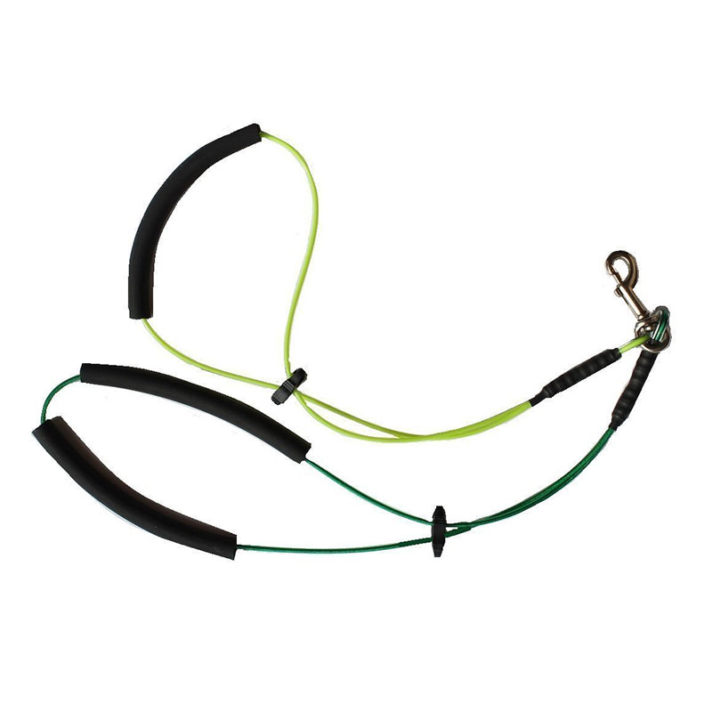 Leashes Dog Collars & Leads Romantic Resistant To Bite Steel Wire Pet Haunch Holder Dog Grooming Loop Arm Restraint For Small Large Dogs Soft Rubber Padded Leash