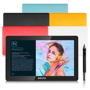 Image 3 - BOSTO KINGTEE 13HDV4 、グラフィックタブレットモニターに DrawTablet モニター、インタラクティブペンディスプレイ、ペンディスプレイ、デジタイザディスプレイ