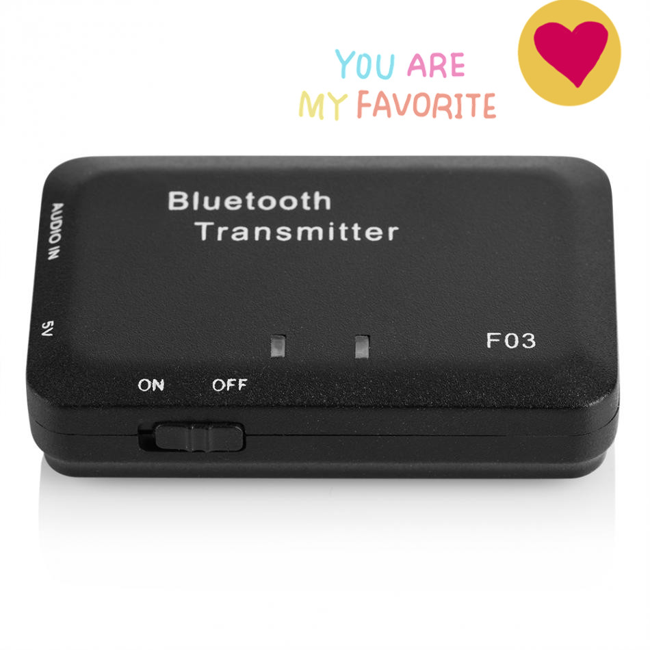 Clever Bluetooth Audio Transmitter 3,5mm Bluetooth Adapter Für Tv Kopfhörer Lautsprecher Cd-player Kindle Feuer Wireless-audio-sender Tragbares Audio & Video