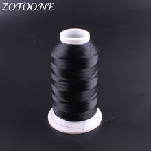 ZOTOONE Sewing Thread Polyester black Hand Quilting DIY Accessories Supplies Embroidery Leather For Home E