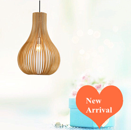 Classical traditional wood art Pendant Lights Handmade indoor ply-wood chips E27 LED lamp for cafe&porch&corridor BT209-310 2016 creative novelty blue shade ply wood chips chandelier e27 led floral lamp indoor lamp for stairs