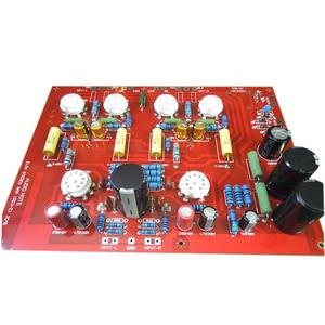 Image 4 - คุณภาพสูงHi EndสเตอริโอPush Pull EL84 เครื่องดูดฝุ่นหลอดเครื่องขยายเสียงPCB DIYชุดRefเสียงหมายเหตุPPบอร์ดD4 004