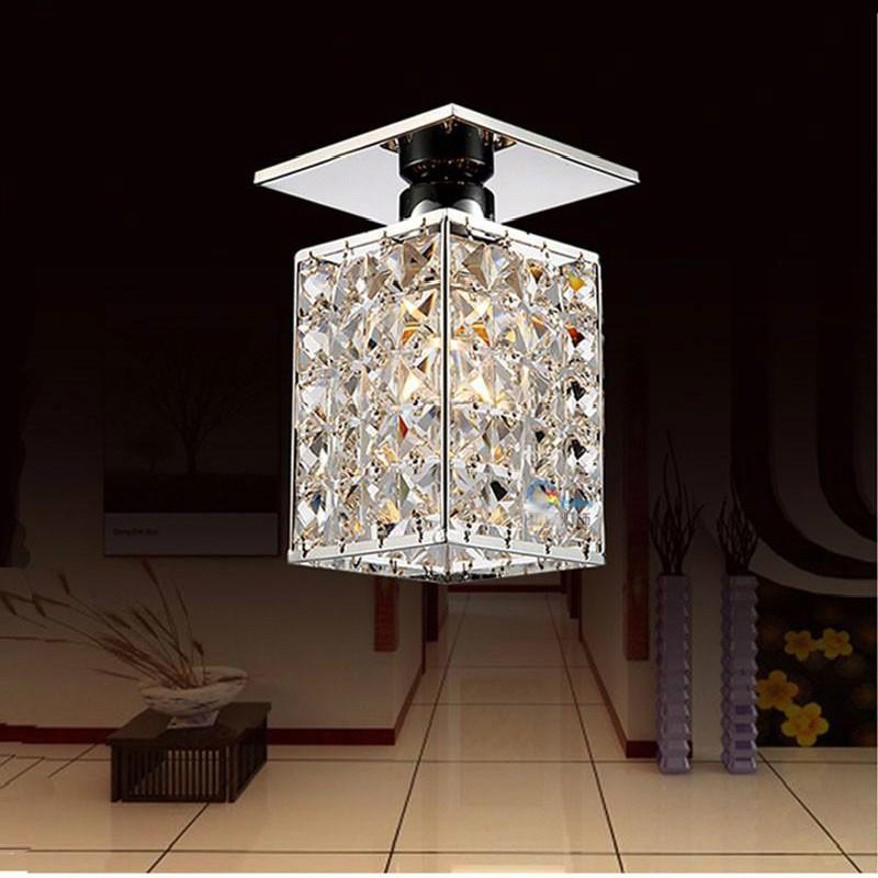 Modern Square Led Crystal Chandelier Light guaranteed Power Home Lamps Chandeliers Lighting Wrought Iron  Chandelier Lighting hghomeart creative cartoon chandeliers led crystal chandelier kids room luminarias wrought iron lamp lustre suspension