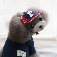 Kawaii Pets Store Satrs Fashion Dog Caps Hats Adjustable Head Circumference For Small Large Pets Cats
