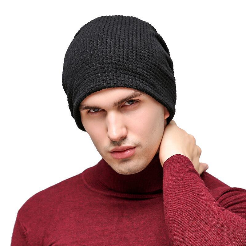 3 Colors!Winter Beanies Solid Color Hat Unisex Plain Warm Soft Beanie Skull Knit Cap Hats Knitted Touca Gorro Caps For Men Women beanie