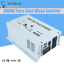 pure sine wave  Inverters 800W Solar System Transformers DC to AC Converter with charging function /US Socket