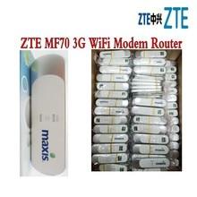 100 шт./лот разблокирована zte MF70 3g USB Беспроводной модем HSPA + 21,6 Мбит/с 3g WI-FI модем