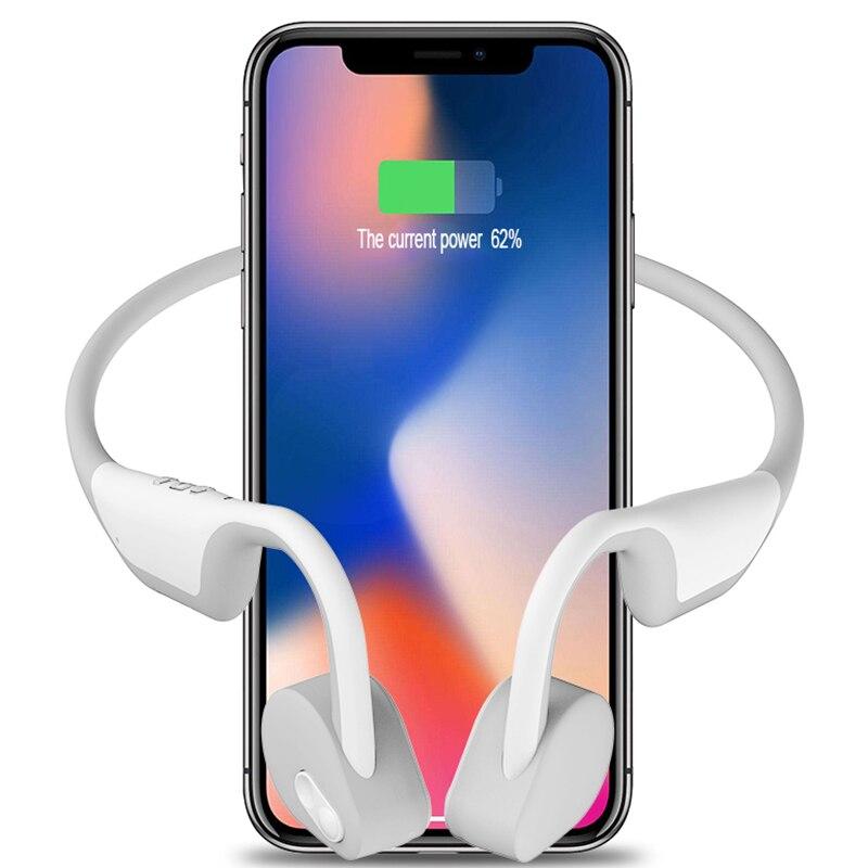 10 pcs/lot BH128 Bluetooth 5.0 sans fil conduction osseuse Bluetooth casque sports de plein air écouteur microphone