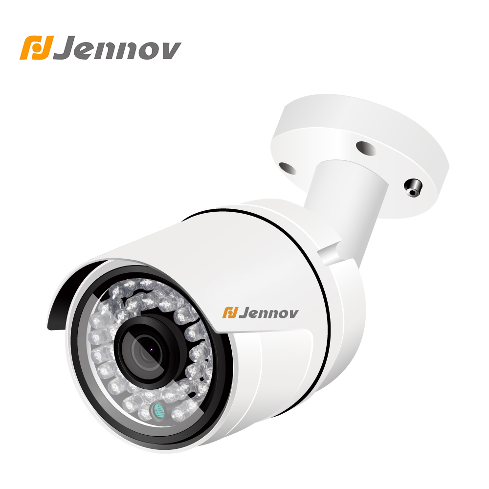 Jennov Mini Security Camera For Home 2MP 1080P IP Camera POE ONVIF Outdoor CCTV Camera Surveillance HD P2P Night Vision IR-Cut 1080p hd cctv ip camera ip65 waterproof p2p onvif ir night vision security surveillance video mini bullet camera free shipping