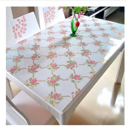 1Pcs/Lot Multi Size PASAYIONE Table Mats Dining Decoration Waterproof Soft Glass Tablecloth 1mm Glossy Home Kitchen Placemat Pad