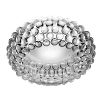 Nordic Designer Art Acrylic Ball Glass Shade Transparent/Gold Dia35/50/65CM Ceiling Lights for Restaurants Bedroom Home CLL 100